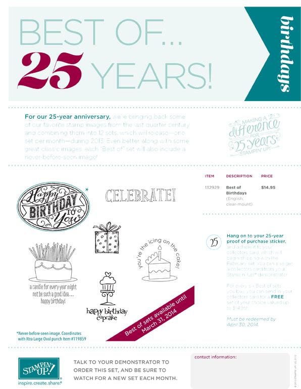 SU DEMO_Best_of_Birthdays_25th_Year_flyer_NA use