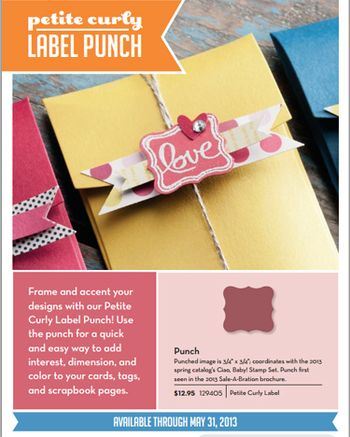 PETITE cURLY LABLE PUNCH